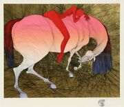 Guillaume Azoulay Epuise Ii Screenprint Signed And Numbered In Pencil