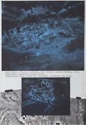 Dennis Oppenheim Star Field - Western United States Lithograph Signed And Num