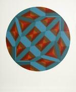 Billy Ray Hastings, Chief Blue, Screenprint, Signed And Numbered In Pencil