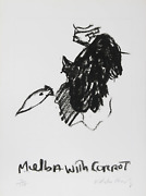 Malcolm Morley, Melba With Carrot, Etching, Signed And Numbered In Pencil