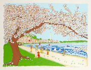Susan Pear Meisel Washington Monument Screenprint Signed And Numbered In Penc