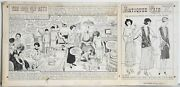 Erwin L. Hess The Good Old Days Ink Drawing On Illustration Board