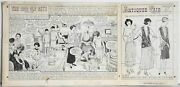 Erwin L. Hess, The Good Old Days, Ink Drawing On Illustration Board