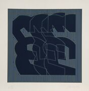 Chryssa, Series 1, Screenprint On Arches, Signed And Numbered In Pencil