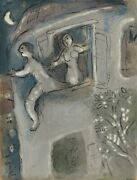 Marc Chagall David Saved By Michal From Drawings For The Bible Lithograph