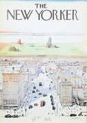 Saul Steinberg View Of The World From 9th Avenue - The New Yorker Poster Moun