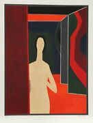 Andre Minaux, Passante From The Helene Portfolio, Lithograph, Signed And Numbere