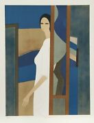 Andre Minaux Ariana From The Helene Portfolio Lithograph Signed And Numbered