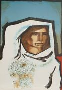 Jorge Dumas, The Bride, Lithograph, Signed And Numbered In Pencil