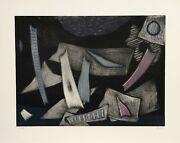 Henri Goetz, Untitled 1, Aquatint Etching, Signed And Numbered In Pencil