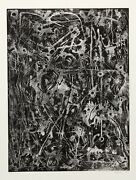Alfonso Ossorio, Untitled Vii, Etching, Signed In Pencil