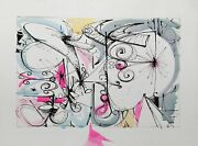 Dimitri Petrov Untitled Ii Ink And Watercolor On Paper Signed And Dated