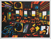 John Hultberg, After The Party, Screenprint, Signed And Numbered In Pencil