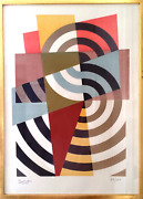 Gaudin Bolivar Untitled Screenprint Signed And Numbered In Pencil
