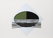Jesus Rafael Soto Ovalo Verde Screenprint On Arches Signed And Numbered In Pe