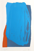Larry Zox Moro Ii Screenprint Signed And Numbered In Pencil