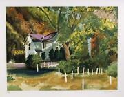 Tony Bennett Wolf Trap Lithograph On Arches Signed And Numbered In Pencil