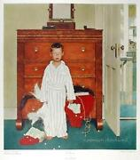 Norman Rockwell The Discovery Poster
