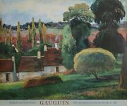 Paul Gauguin, A Farm In Brittany, Poster On Foamcore