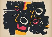 Edo Murtic Untitled Screenprint Signed And Numbered In Pencil