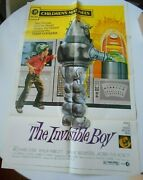 Invisible Boy Reissue 1-sheet Poster Robby The Robot Forbidden Planet