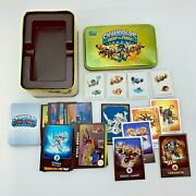 63 Skylanders Swap Force, Giants, Trap + More Topps Trading Cards And Tin