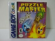Puzzle Master Game For Nintendo Gameboy Game Boy Brand New Factory Sealed Rare