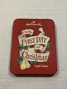 First Day Of Christmas Hallmark Partridge In A Pear Tree Song Card Game Unused