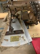 Union Special 51400 With Puller Tucking Machine Head Only 3 Needles 3/4spacing