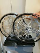 25andprime Spinners Wheelchair Wheels