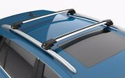 Turtle Air1 Roof Rack Cross Bar Silver Color For Suzuki Sx4 2006-2014