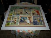 Virgil Ross Animation Art Hand Painted Limited Edition 721/750 Cel Rare Signed