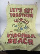 Vin. Hawaiian Punch Inflatable Souvenir Raft-lets Get Together In Virginia Beach