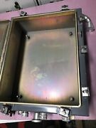 Hoffman 20x16x6 Hinged Electrical Industrial Control Panel Enclosure Cabinet