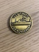 Uss Chief Mcm-14 Chiefand039s Mess Navy Challenge Coin