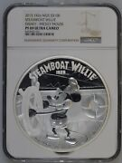 Mickey Mouse Disney Steamboat Willie 2015 1kilo Niue 100 Silver Coin Pf 69 Uc