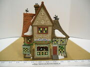 1999 Department 56 Dicken's Village Nettie Quinn Puppets And Marionettes 58344