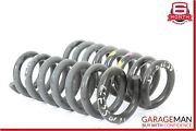 10-16 Mercedes W207 E350 Rear Right And Left Side Suspension Shock Coil Springs