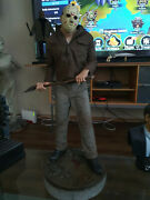 Extremely Rare Friday The 13th Part 3 Jason With Axe Figurine Le Of 750 Statue