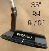 Pyramid Putters Blade Az-1 35andrdquo Blair Oandrsquoneal Putter Golf Milled Groove Grip Rh