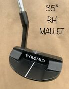 Pyramid Putters Mallet Az-2 35andrdquo Blair Oandrsquoneal Putter Golf Milled Groove Grip Rh⛳️