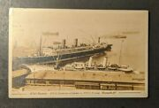 Mint Vintage Rms Niagara And Rms Empress Of Japan Vancouver Bc Canada Rppc