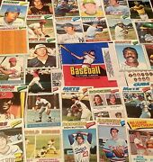 1977 Topps Baseball 200-299 You Pick See Scanscomplete Setsteamsplayers