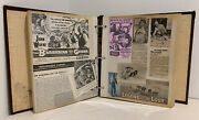 Vintage John Wayne Scrapbook Handmade 82 Pages Of Clippings Scraps And Photos