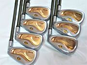 3star Honma Golf Clubs Beres Mg703 6-aw 7pc R-flex Irons Set
