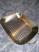 The Pampered Chef Bbq Grill Roasting Pan - No Can - Retired