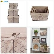 Dii Vintage Chicken Wire Baskets For Storage Removable Fabric Liner Assorted Se
