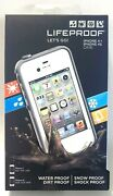 New Lifeproof Iphone 4/4s Case - Water Proof / Dirt Proof / Shock Proof - White