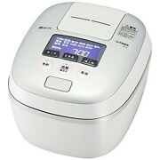 Used Tiger Ih Pressure Rice Cooker 5.5 Go Cook Takitate Jpc-a100-wh White Gray