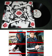 Flea And Chad Smith Signed Red Hot Chili Peppers Blood Sugar Sex Magik Album Coa